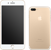 【au】iPhone 7 Plus 256GB ゴールド